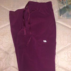 Pants - Wine colored Scrub pants